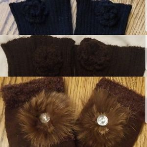Accessories - Lot of 3 leg warmers
